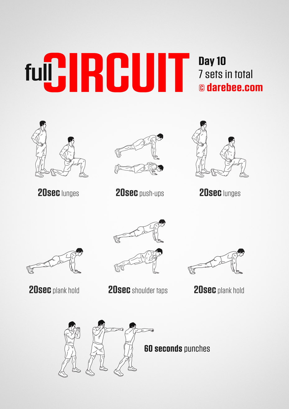 Full Circuit - 30 Day Bodyweight Program