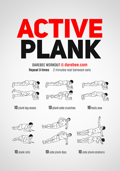 Active Plank Workout