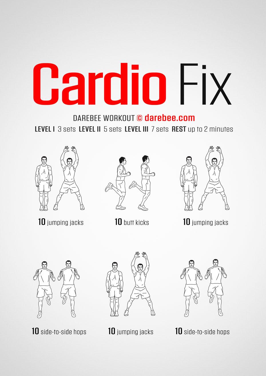 cardio fix workout