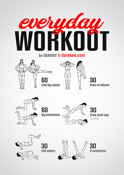 Everyday Workout by Darebee