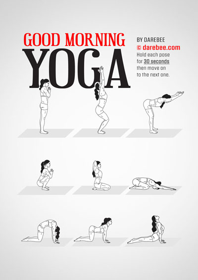 Good Morning Yoga free workout by Darebee