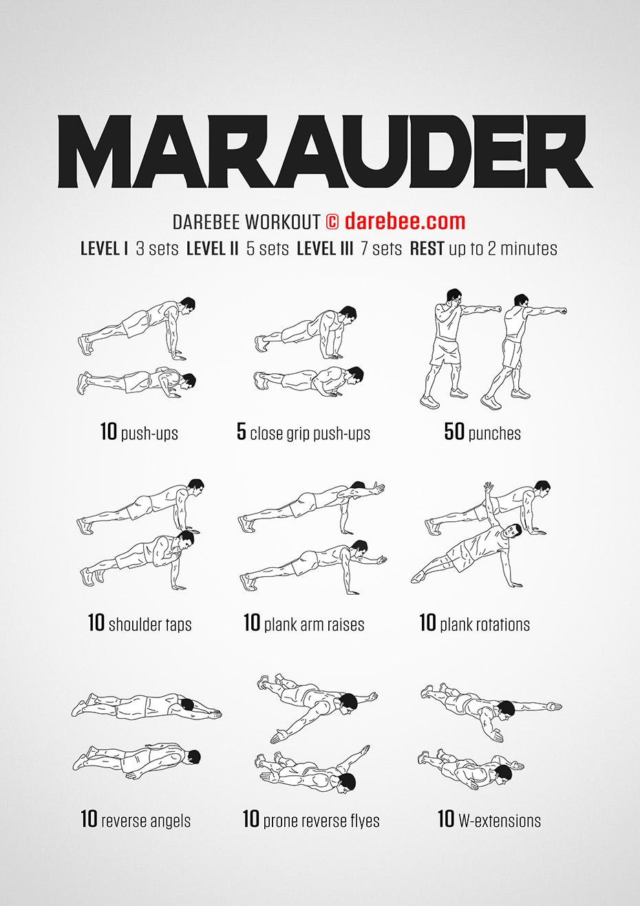 marauder workout