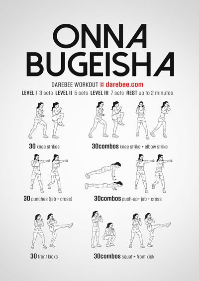 Onna-Bugeisha Workout